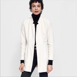 Zara Herringbone Frock Coat